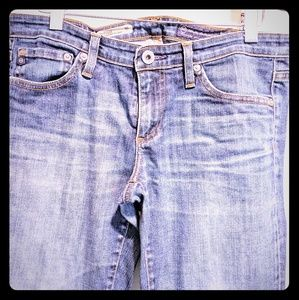 AG Stilt Cigarette Jeans Size 28R